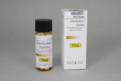 Clenbuterol tabletter 20mcg (100 tab)