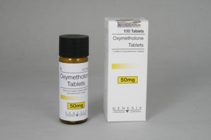 Oxymetholone tabletter 50mg (100 tab)