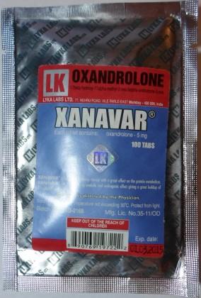 Xanavar 5mg (100 tab)